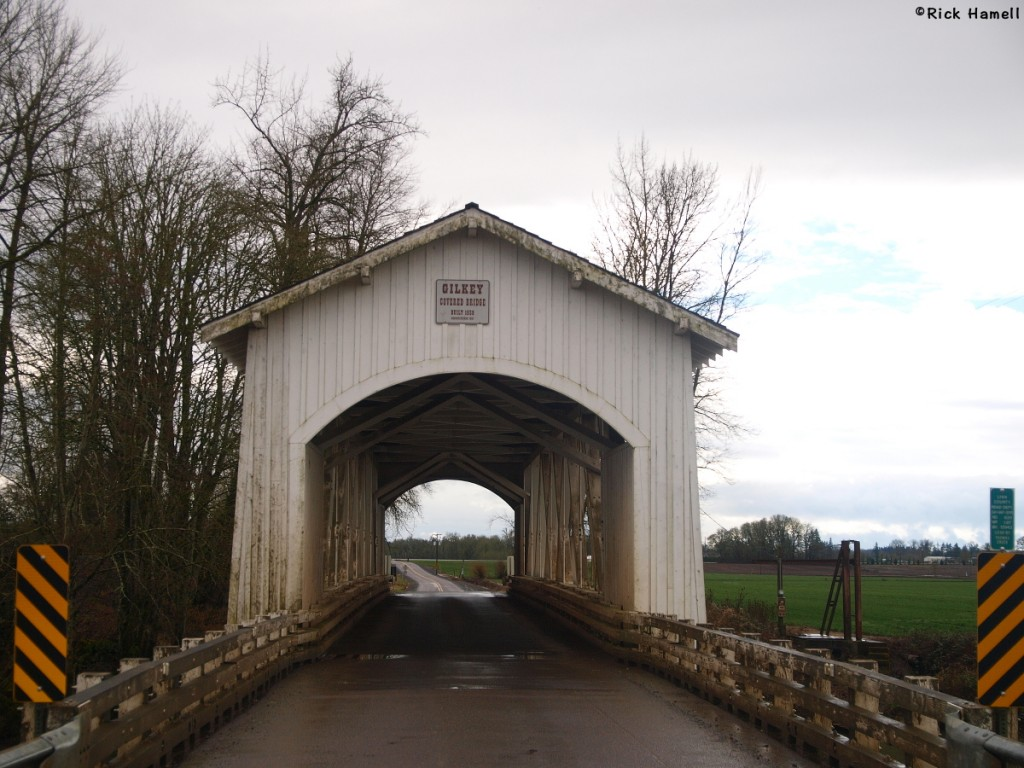 Gilkey Covered Bridge Oregon